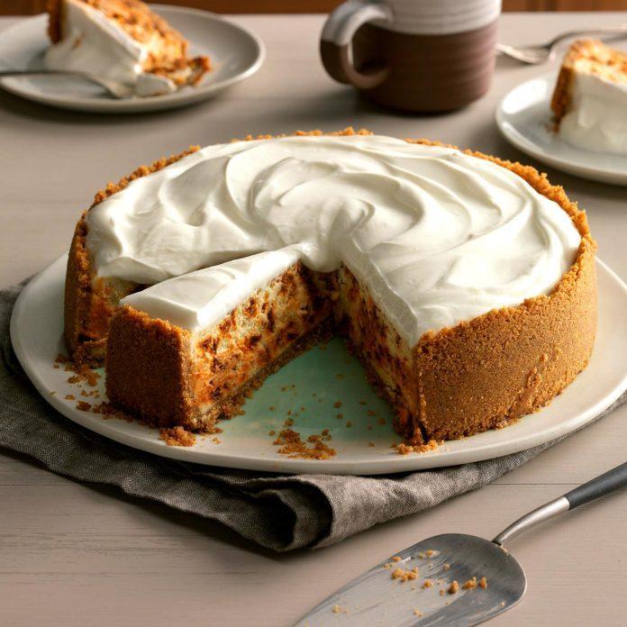Snickerdoodle Cheesecake