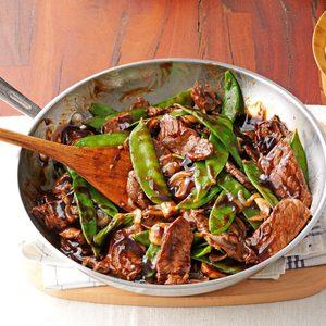 Snow Peas & Beef Stir-Fry