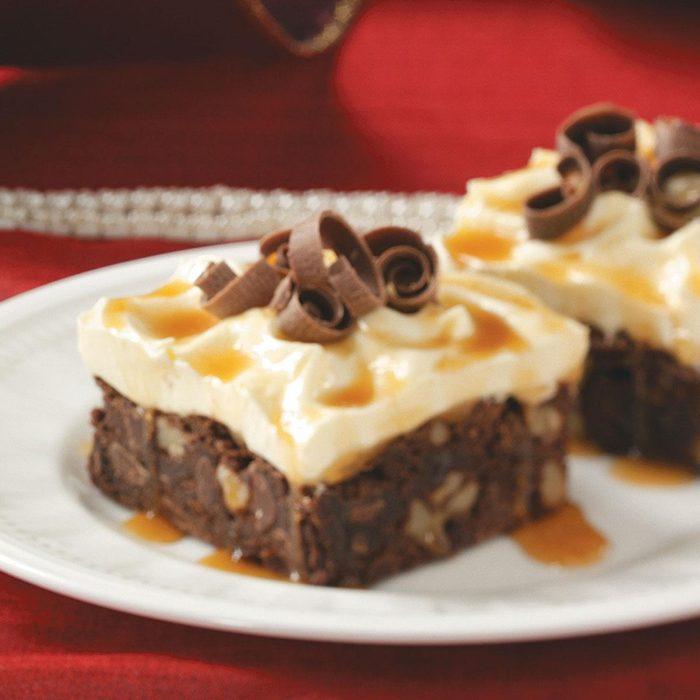 Snowcapped Brownies