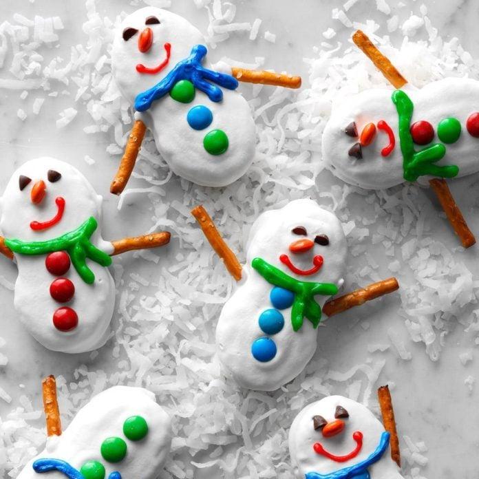Snowman Cookies Recipe: Snowmen Cookies Recipe