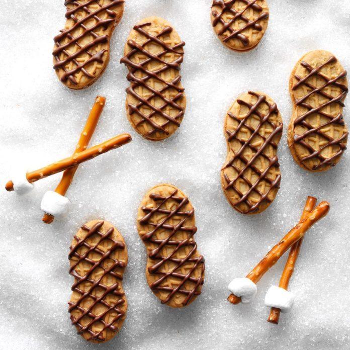 Snowshoe Cookies