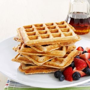 Soul-Satisfying Oatmeal Waffles