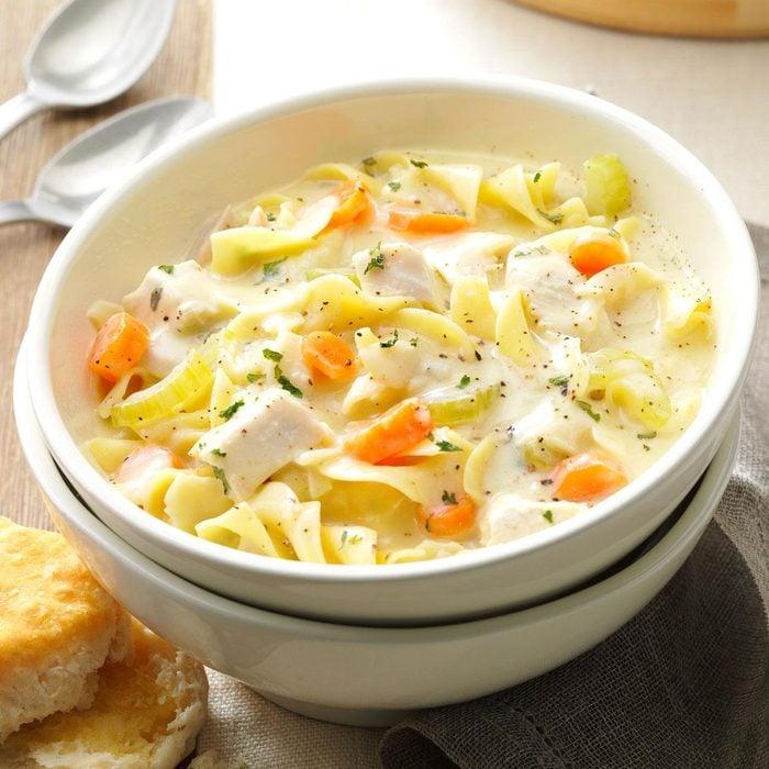 Soupy Chicken Noodle Supper