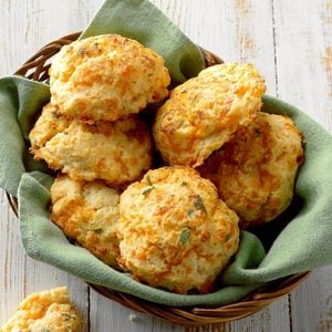 Sour Cream & Cheddar Biscuits