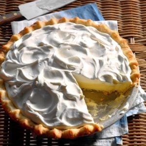 Sour Cream-Lemon Pie