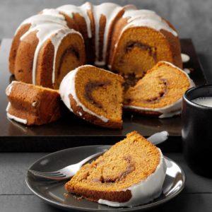 Sour Cream Pumpkin Cake