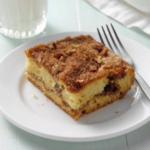 Sour Cream Streusel Coffee Cake
