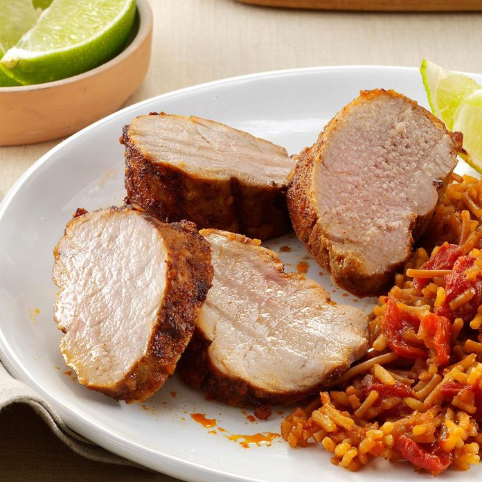 Southwest Pork Tenderloin