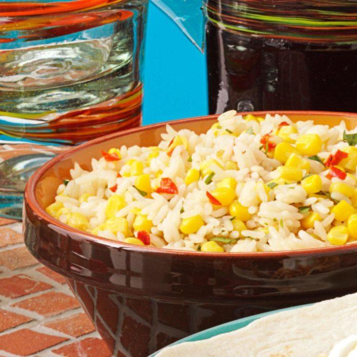 Southwest Rice Pilaf
