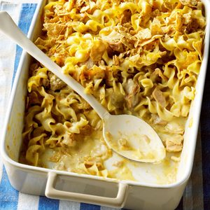 Southwest Tuna Noodle Bake