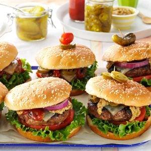 Southwestern Backyard Burgers