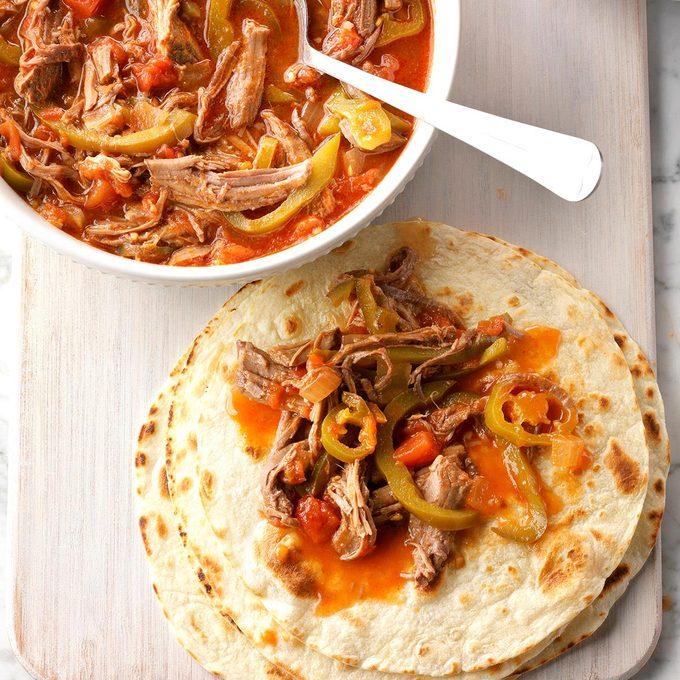Southwestern Beef Tortillas