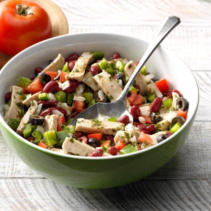 Southwestern Pork Salad