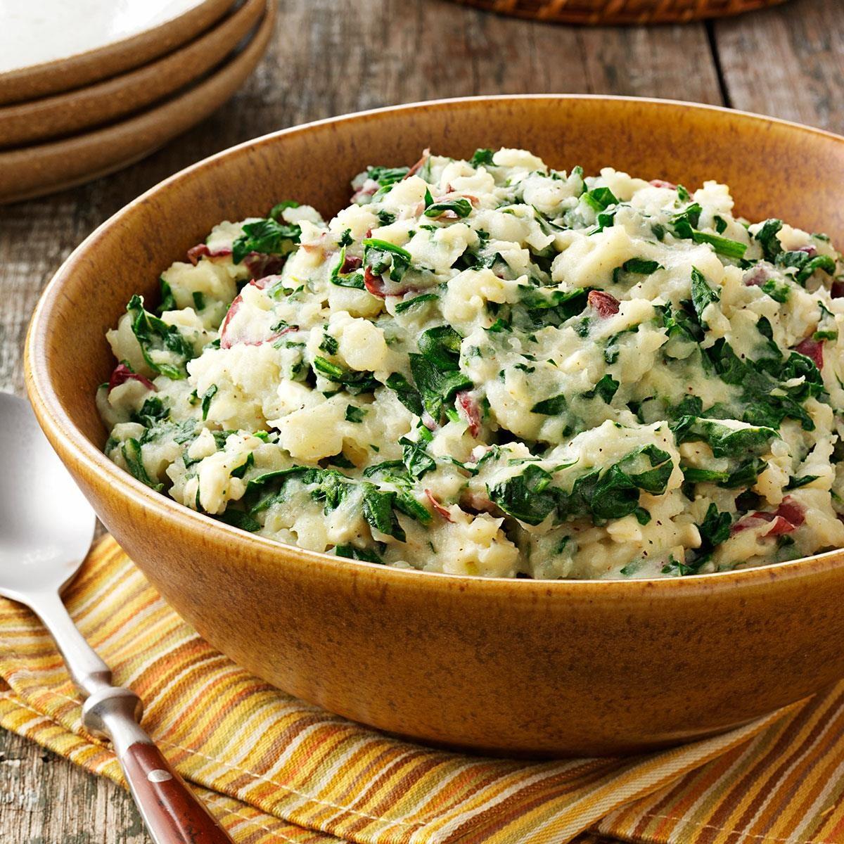 Spanakopita Mashed Potatoes