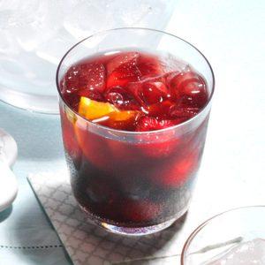 Sparkling Red Wine Sangria
