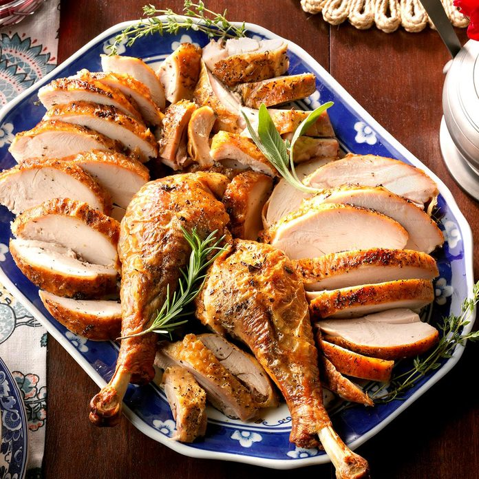 Spatchcocked Herb-Roasted Turkey