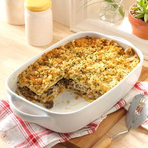 Special Mushroom Lasagna