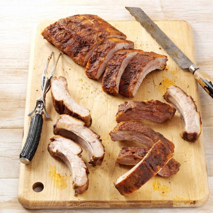 Spice-Rubbed Ribs