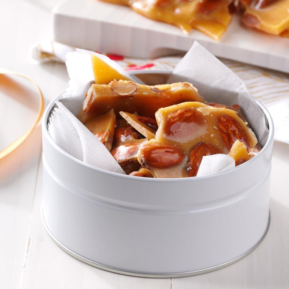Cayenne: Spiced Almond Brittle