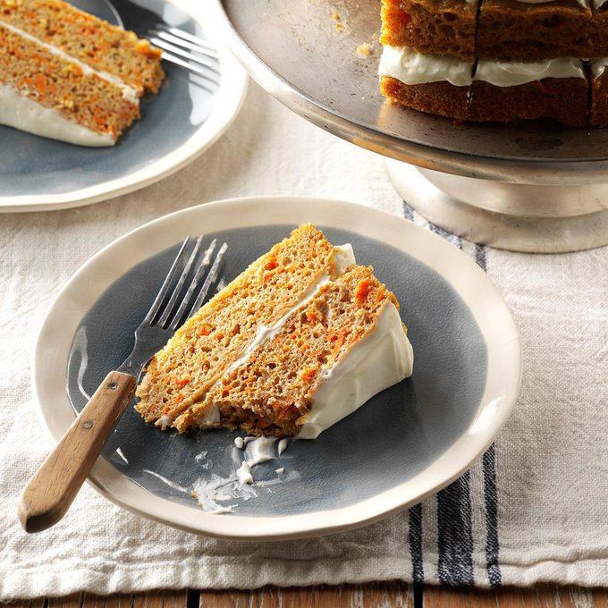 Spiced Carrot Cake