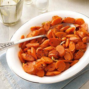 Spiced Garlic Carrots