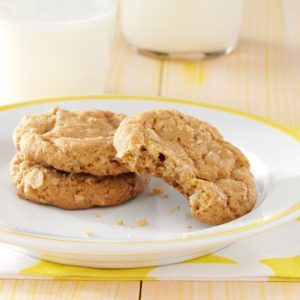 Spiced Oatmeal Cookies
