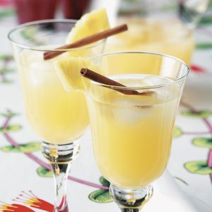 Spiced Pineapple Cooler