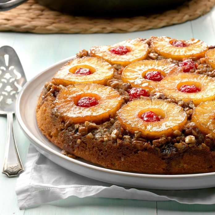 Indiana: Spiced Pineapple Upside-Down Cake