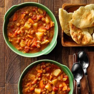 Spiced Split Pea Soup