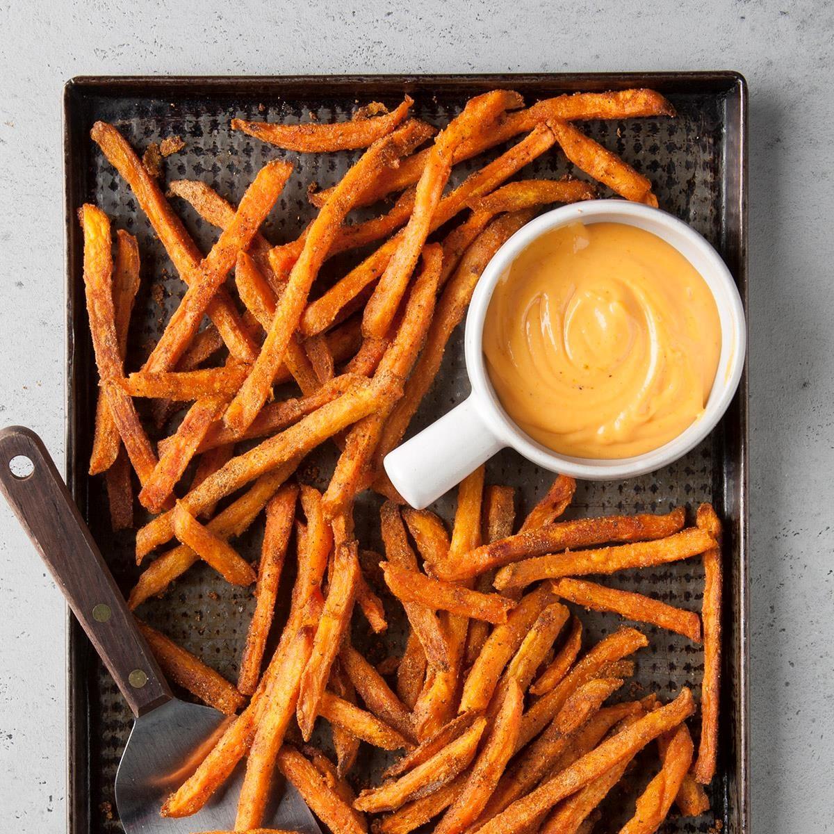 High School Age: Spiced Sweet Potato Fries