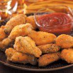 Spicy Breaded Chicken Wings