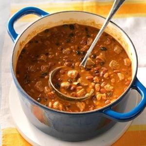 Spicy Chuck Wagon Beans