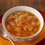 Spicy Couscous & Tomato Soup