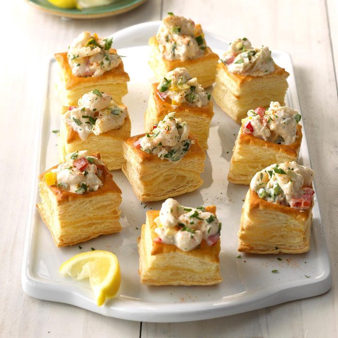 Spicy Crab Salad Tapas