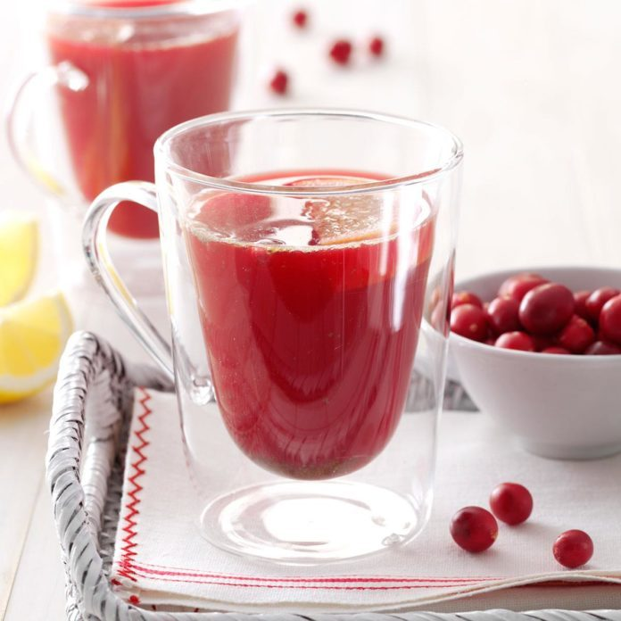 Spicy Cranberry Drink