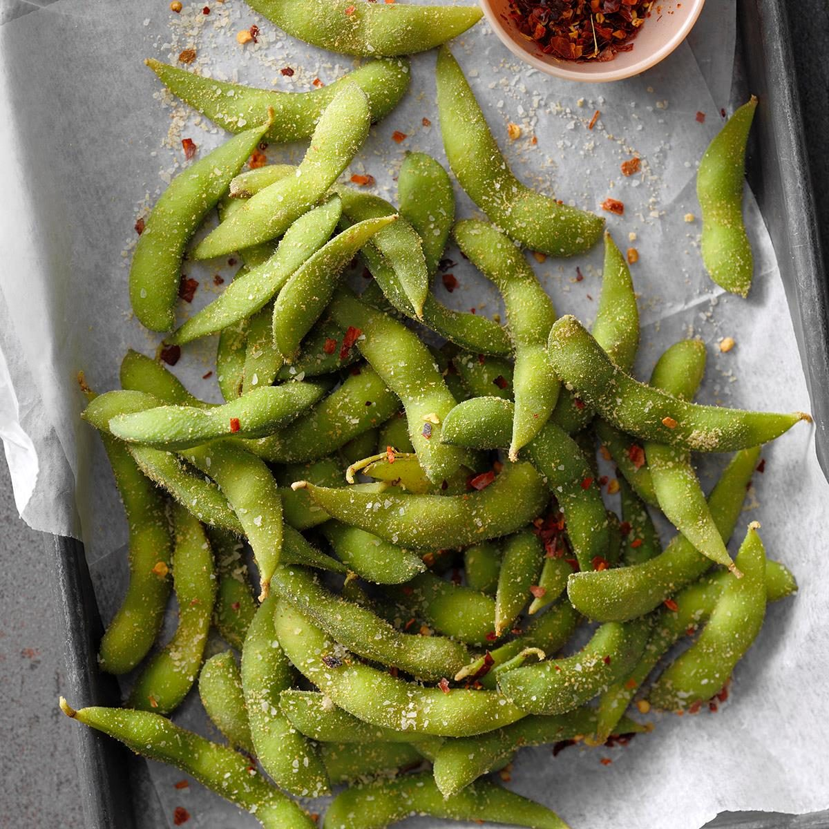 Inspired by: Cheesecake Factory Spicy Edamame