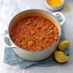Spicy Fajita Chili