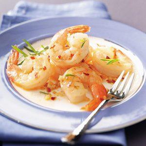 Spicy Garlic Shrimp