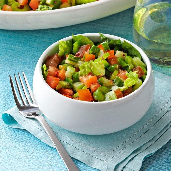 Spicy Gazpacho Salad