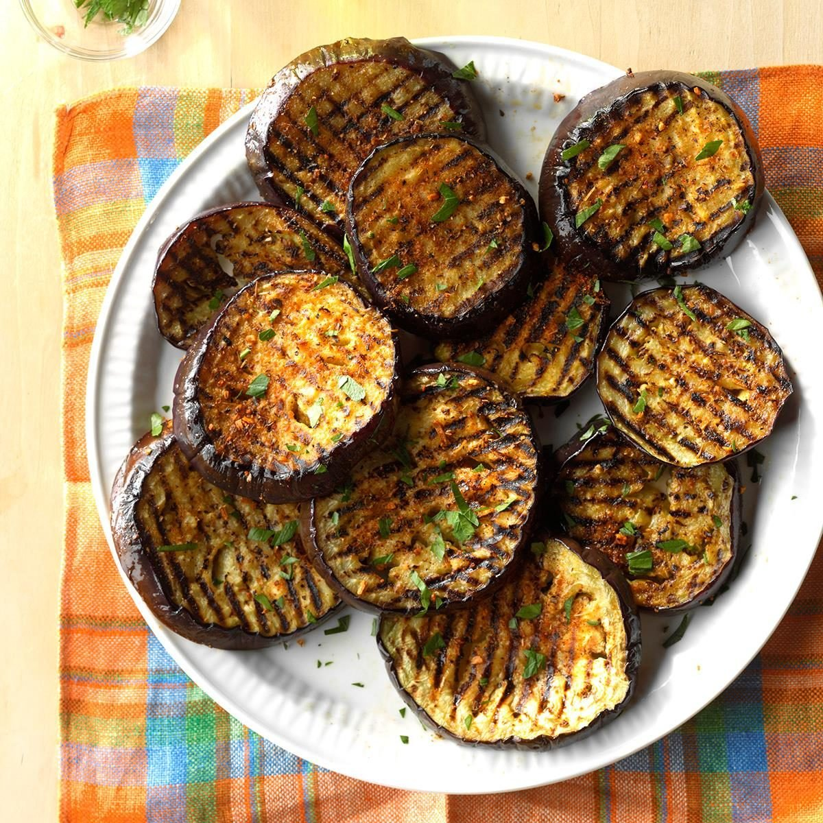 Spicy Grilled Eggplant Recipe Taste Of Home