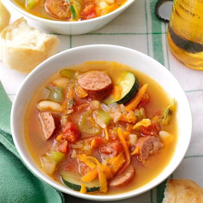 Spicy Kielbasa Soup