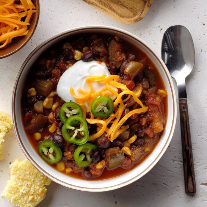 Spicy Meatless Chili