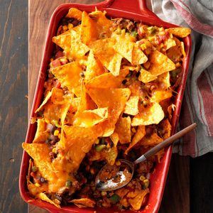 Spicy Nacho Bake
