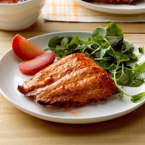 Spicy Plum Salmon