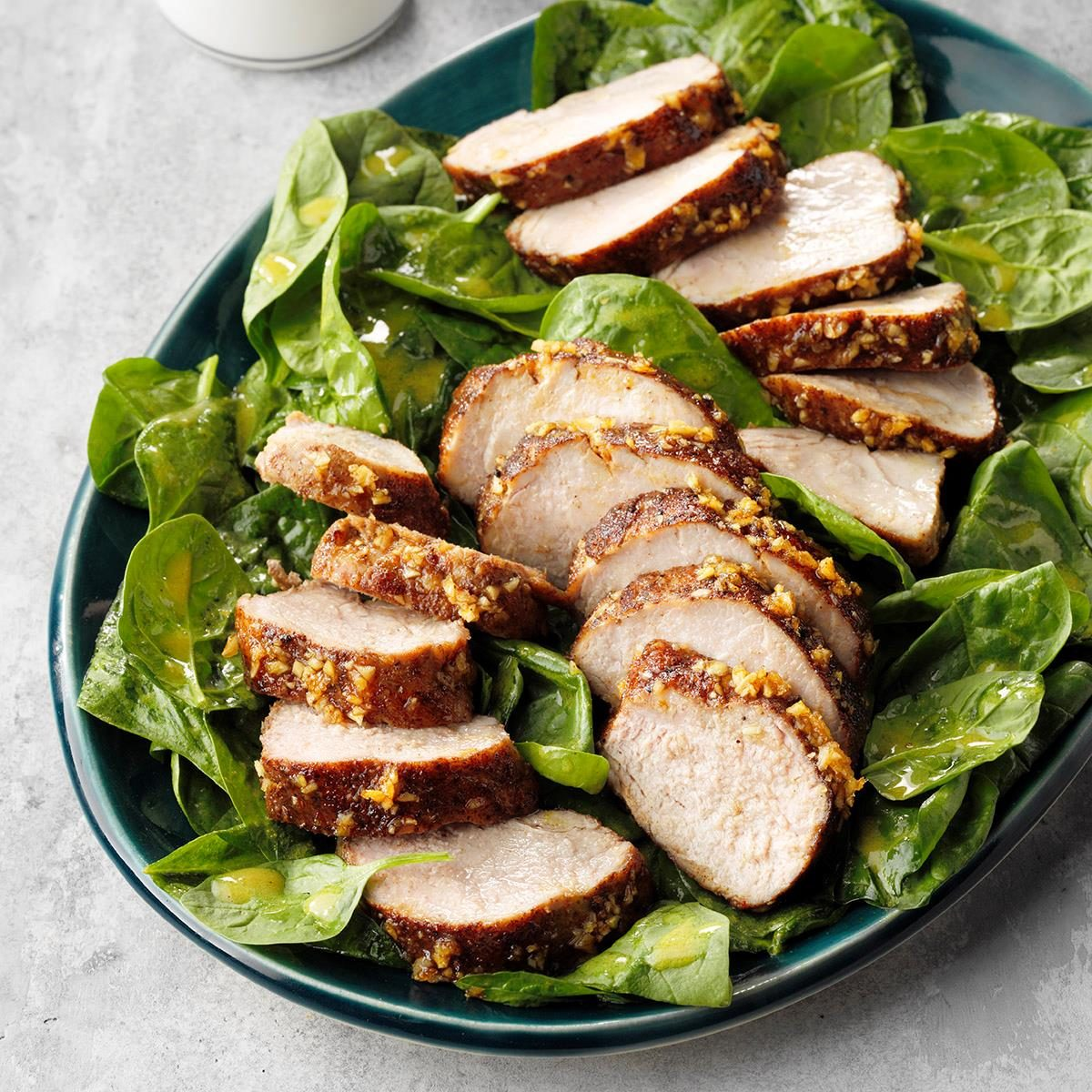 Spicy Pork Tenderloin Salad