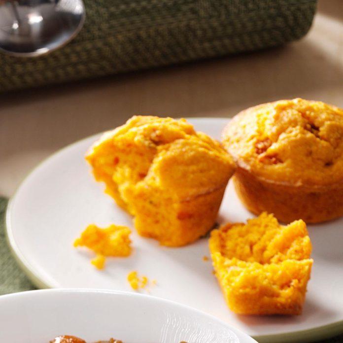 Spicy Salsa Muffins