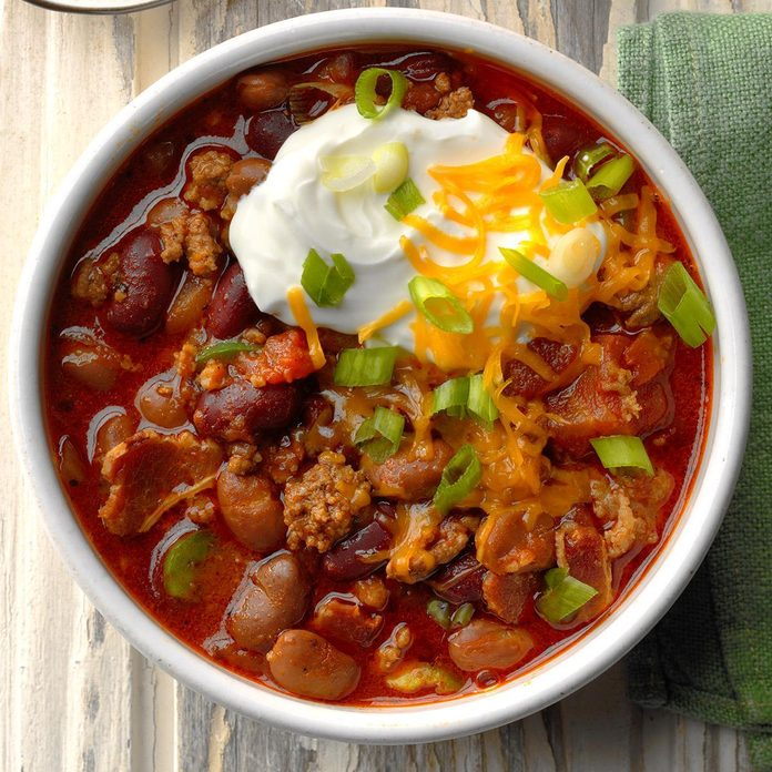 Day 2: Spicy Touchdown Chili