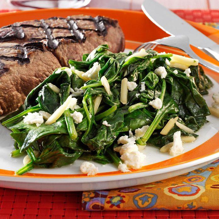 Spinach & Feta Saute