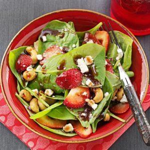 Spinach and Gorgonzola Salad