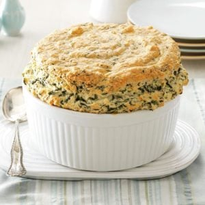 Spinach Pantry Souffle